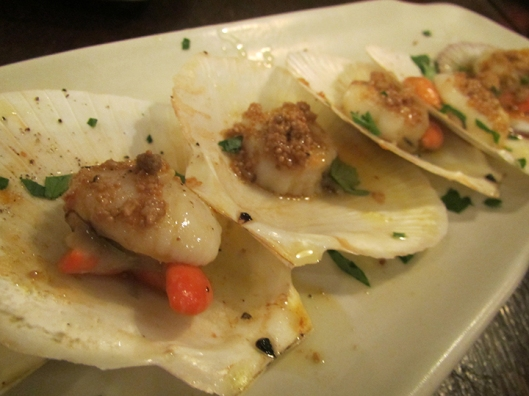 Baked Scallops from Capiz. So fresh, it's sea-sweet!