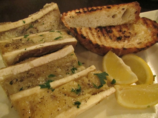 Roasted Bone Marrow, made famous in Gaita Fores's Pepato
