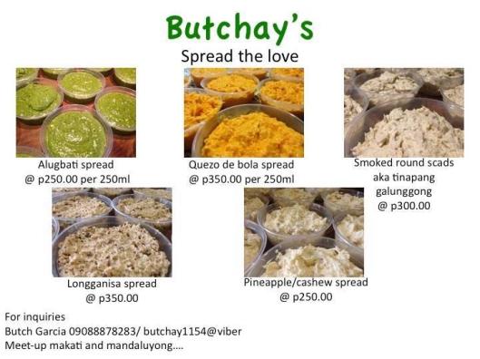 ButchayMenu