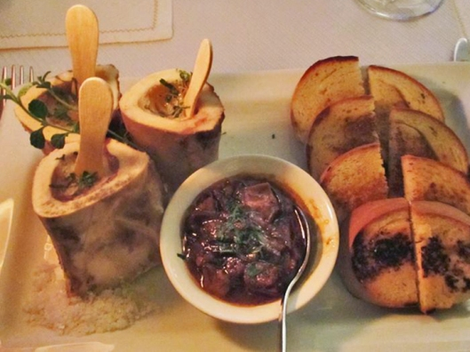 Chef Jay Gamboa's Roasted Bone Marrow with Mole Asado